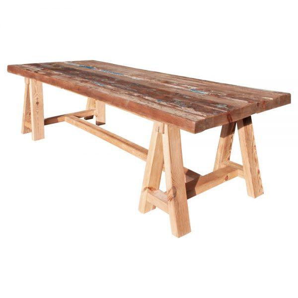 mesa comedor grande estilo rustico