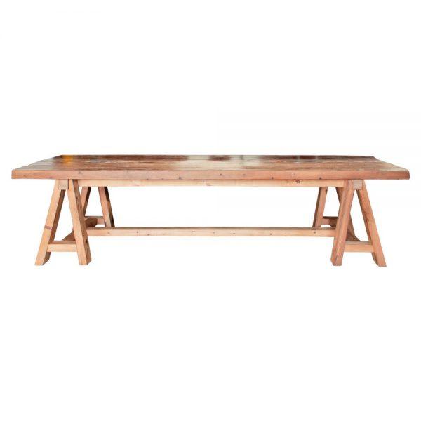 mesa comedor rustica grande