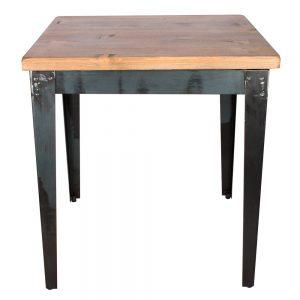 mesa cuadrada para bar tapa madera