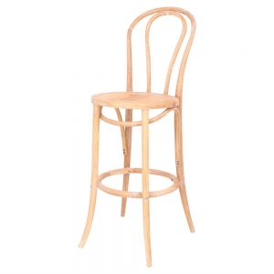 taburete thonet natural