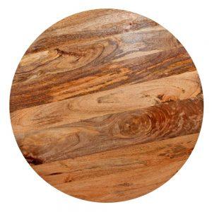 tapa mesa madera redonda mango