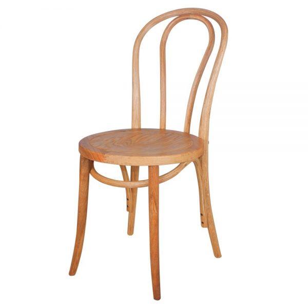 silla madera color natural