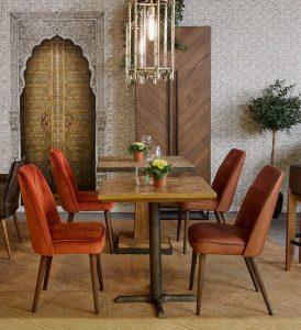 sillas para comedor tapizadas