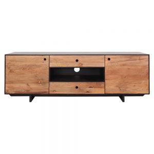 mueble TV estilo nórdico puertas y cajones