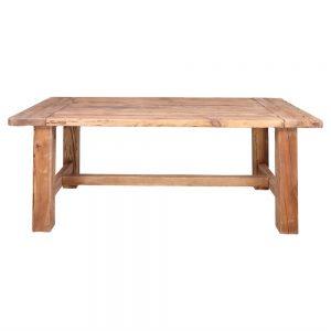 mesa comedor rustica madera maciza