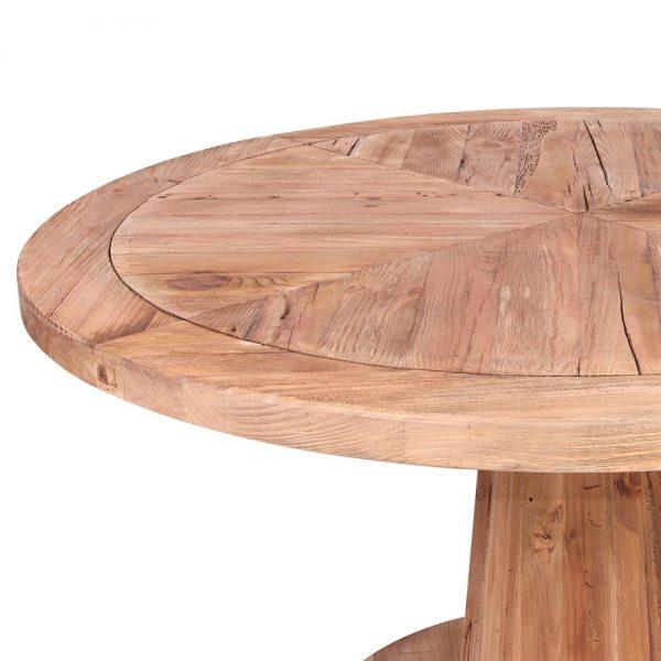 mesa redonda comedor madera pino macizo
