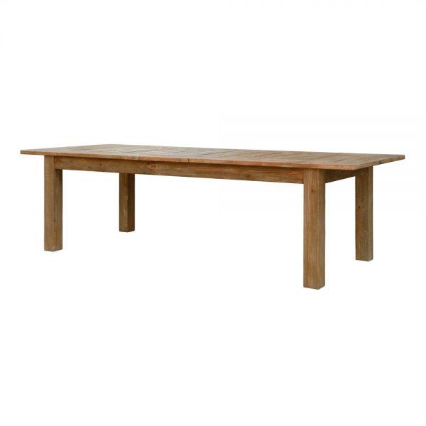 mesa comedor extensible en madera maciza
