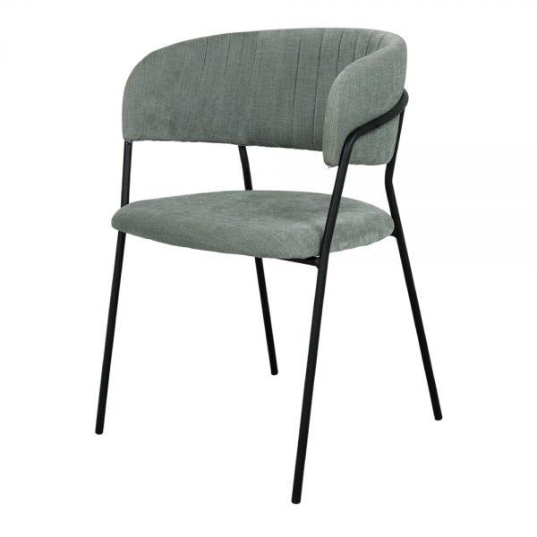 sillas tapizadas verde agua