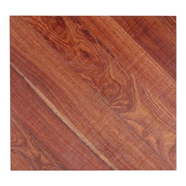 tapa de madera maciza de mesa cuadrada