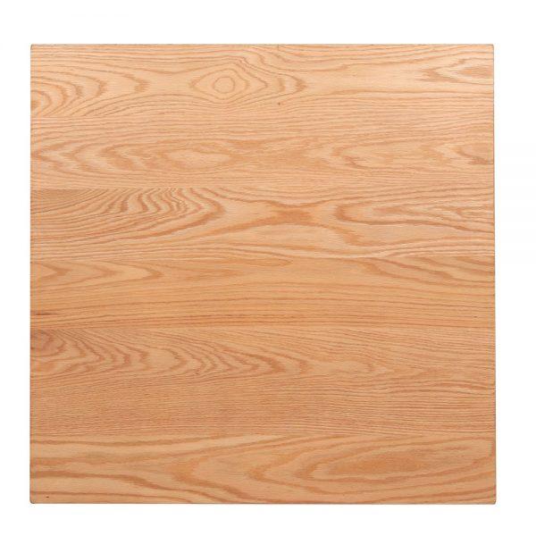 tapa mesa cuadrada de madera color roble