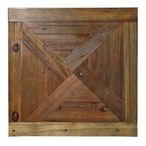tapa mesa cuadrada con diseño geométrico
