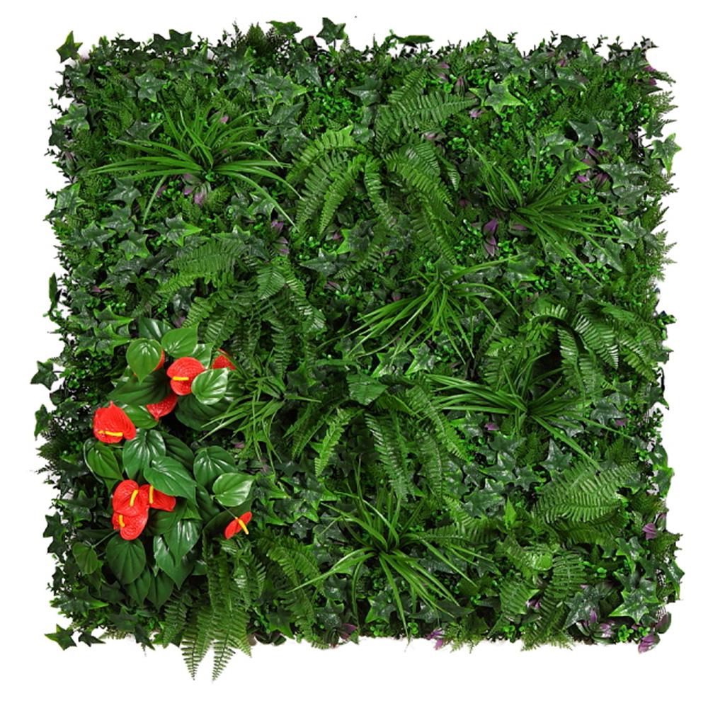Jard n vertical duero desvan vintage plantas for Plantas artificiales jardin vertical
