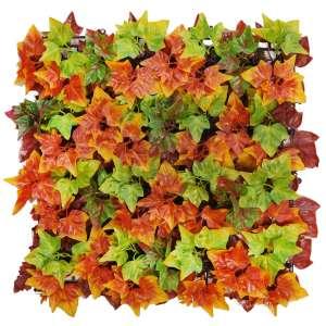 decorar pared con plantas artificiales
