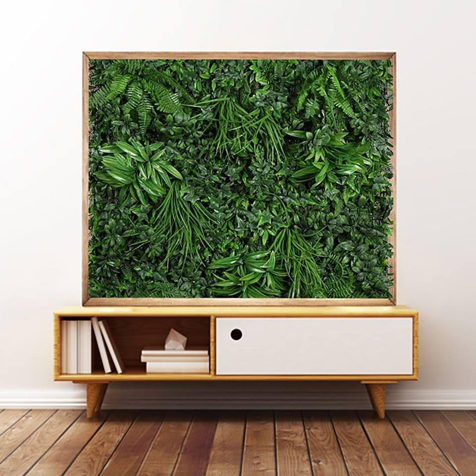 Jard n vertical duero desvan vintage plantas artificiales interior - Desvan vintage ...