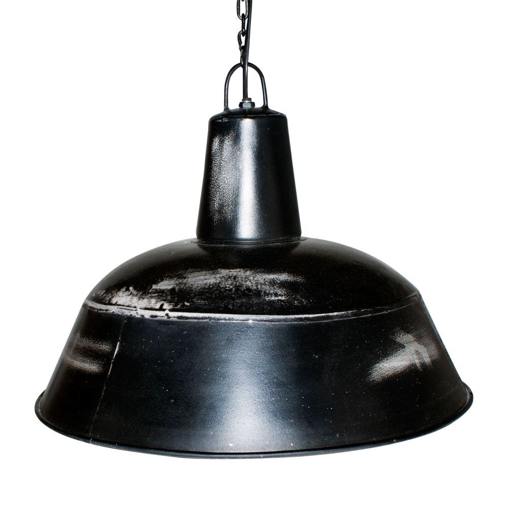 lampara de techo negra