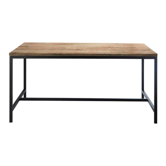 mesa industrial vintage madera