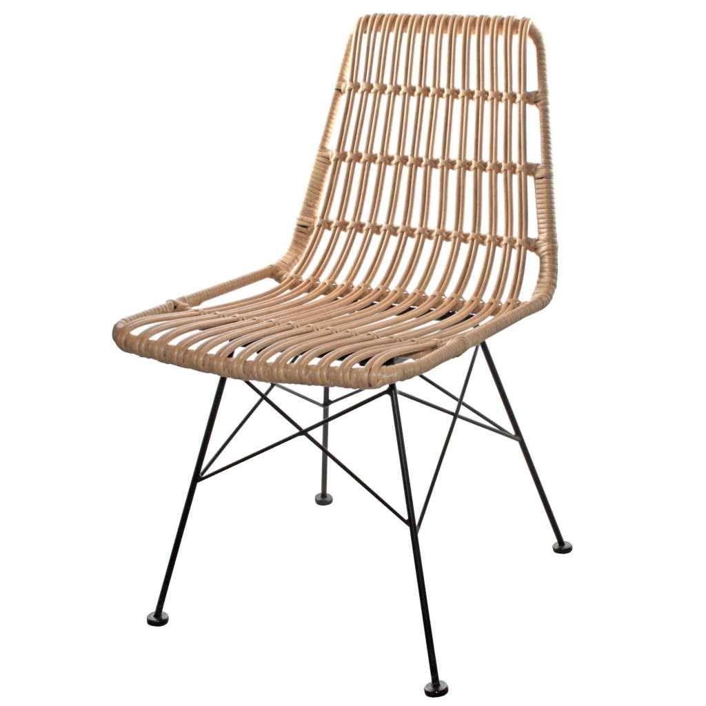 silla terraza rattan