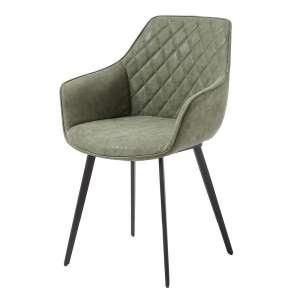 venta comedor silla estilo nordico tapizada verde