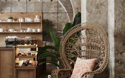 Decoración con Muebles de Rattan