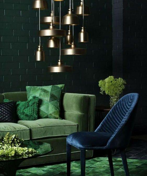 muebles tapizados en terciopelo