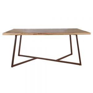 mesa comedor madera industrial