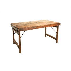 mesa plegable de madera para comedor