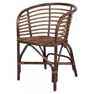 sillas de madera y bambu para comedor