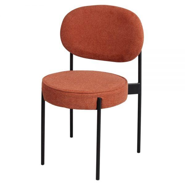 silla comedor diseño tapizada tela