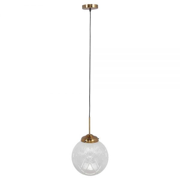 lampara con bola de cristal