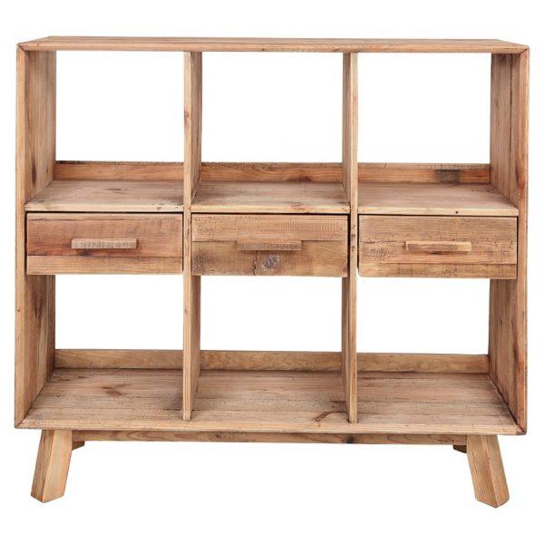mueble para cubiertos de madera