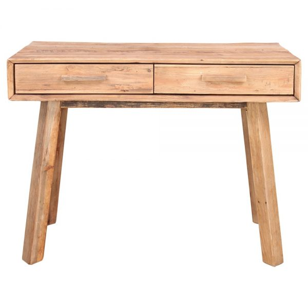 consola entrada en madera maciza