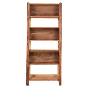 estantería madera maciza para productos
