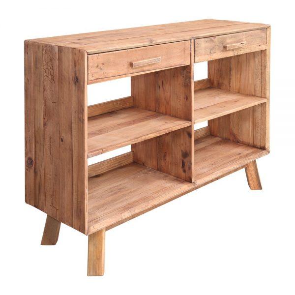 mueble para cubiertos de madera maciza