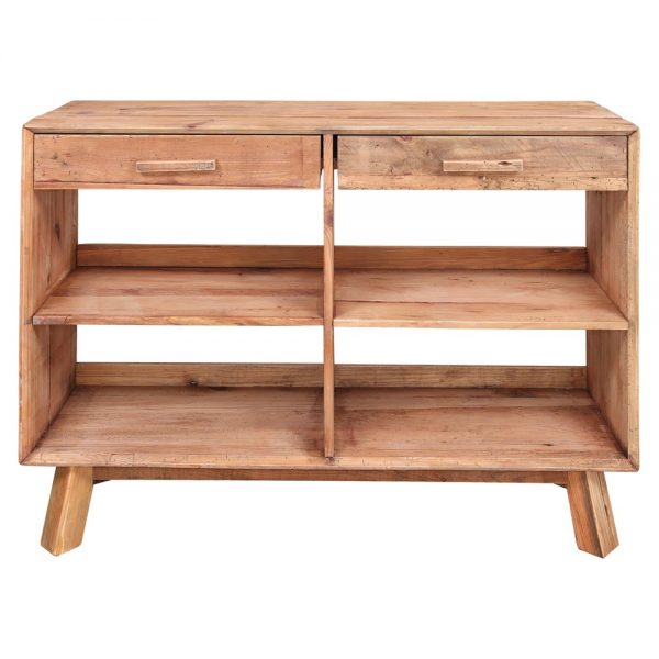 mueble para cubiertos de madera con cajones