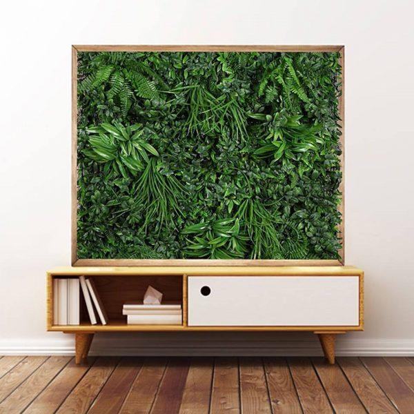 jardín vertical para pared interior