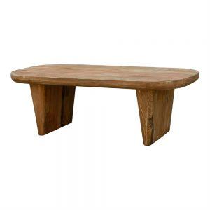 mea centro rectangular madera maciza
