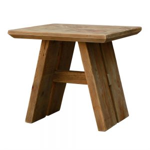 mesa auxiliar en madera maciza