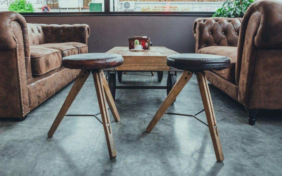 sofé chester marrón