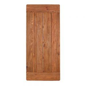 tapa de mesa rectangular en madera de pino